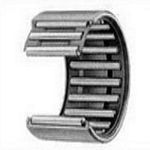 Shell type needle roller bearings are lightweight with the lowest sectional height among needle roller bearings with outer ring, because they employ a shell type outer ring made from a thin special steel plate which is accurately drawn, carbonized and quenched.